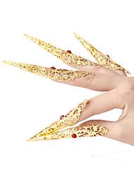 Performance Dancewear Alloy kanssa tekojalokivi Dance Nails For Ladies (1 kpl)