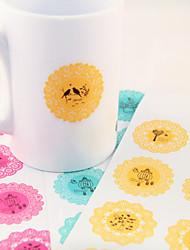 Cute Lace Adhésifs modèles (couleurs aléatoires)