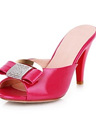 Fashion Leatherette Chunky Heel Sandals / Peep Toe Party / Evening Shoes (More Colors)