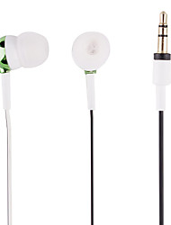 Fashion Exquisite High-Quality Black-And-White Cable In-Ear Headphones (E350)