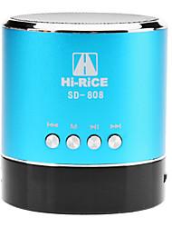 HI-РИС SD-808 Портативная колонка Alufer Материал Digital Media спикера (5 цветов) SD-808