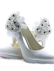 Women's Wedding Shoes Heels Heels Wedding Black/Blue/Pink/Purple/Ivory/White/Silver/Gold/Champagne