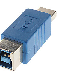 High-Speed-3.0 A Stecker auf B Buchse Adapter blau