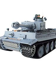 1: 16 RC tanque alemán Tiger Air Soft Radio remoto de control del tabaquismo Battle Tank (Humo y Sonido) Juguetes
