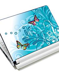 """""""Mariposas"""" patrón portátil etiqueta protectora de la piel para 10 """"/ 15"""" ordenador portátil 18 671 (15 """"conveniente para debajo de 15"""")"""