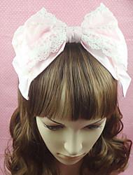 Gioielli Dolce Cappelli Da principessa Accessori Lolita Accessori per capelli Fiocco Tinta unita Per Cotone