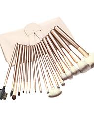 Top três cores nylon cabelo escova Cosméticos (18 peças)
