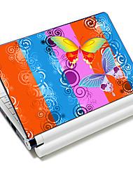 """""""Mariposa"""" patrón portátil etiqueta protectora de la piel para 10 """"/ 15"""" ordenador portátil 18 394 (15 """"conveniente para debajo de 15"""")"""