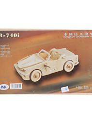 B-740i Runabout DIY Houten 3D Puzzel Jigsaw Construction Kit (Model: G-P067A)