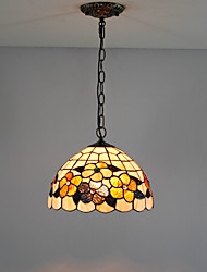 Lámpara Chandelier Tiffany Floral - WEBER