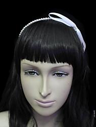 Women's Satin/Imitation Pearl Headpiece - Wedding/Special Occasion/Casual/Outdoor Headbands