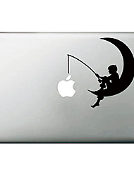 "De Maan Patroon Apple Mac Decal Skin Sticker Cover voor 11 ""13"" 15 ""MacBook Air Pro"