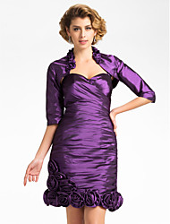 Nice Half Sleeve Taffeta Evening/Wedding Wrap/Evening Jacket (More Colors) Bolero Shrug
