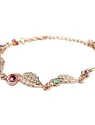 18 Karaats Verguld Dames Armbanden Bergkristal