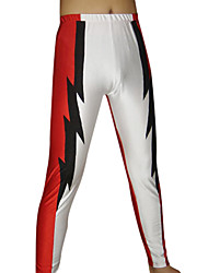 White and Red Spandex Pants