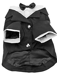 Dog Coat Black Spring/Fall Wedding