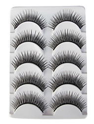 5 Pairs European Black False Eyelashes 313