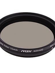 Пикселя 55mm фильтр нейтральной плотности ND2 ND400 с крышкой объектива