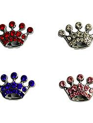 Коты Собаки Таблички Компоненты для самостоятельного изготовления Стразы Тиары и короны Белый Розовый Пластик