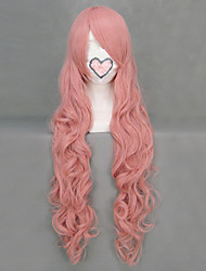 Cosplay Wigs Vocaloid Megurine Luka Pink Long Anime/ Video Games Cosplay Wigs 90 CM Heat Resistant Fiber Female