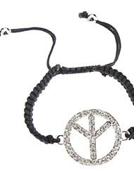 Frieden Mark Woven Bracelet