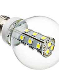 4W E26/E27 Lampadine globo LED G60 21 SMD 5050 280 lm Bianco AC 220-240 V