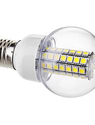E26/E27 Lampadine globo LED G60 63 SMD 5050 650 lm Bianco AC 220-240 V