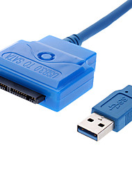 USB 3.0 SATA 16P Conversion Cable for Printer, Mobile Devices (0.5 m)