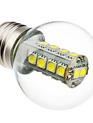 3W E26/E27 Lâmpada Redonda LED G45 18 SMD 5050 230 lm Branco Natural AC 220-240 V