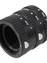 Auto Focus Macro Extension Tube Set (ABS) for Canon D-SLR Camera