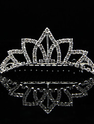 Women's / Flower Girl's Rhinestone / Alloy Headpiece-Wedding / Special Occasion Tiaras