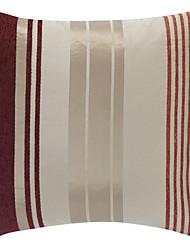 Polyester Housse de coussin , Rayé Rustique