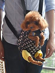 bolsa mochila frontal patrón bowknot encantadora portador del animal doméstico para los perros (s-xl)