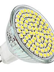 MR16 3,5 Вт 80x3528SMD 300LM 6000-6500K Белый свет природных LED Spot Лампа (12)