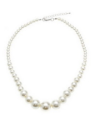 Tour Forme Imitation Pearl Necklace