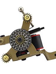 Macchinetta per tatuaggi a bobina Professiona Tattoo Machines Ghisa Linee e ombre Elettroerosione