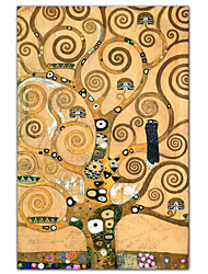 Frieze II by Gustav Klimt Famous Art Print
