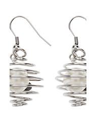 Perle unique en acier inoxydable Earring