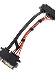 sata al 7 de 15 m / f cable 0.3m
