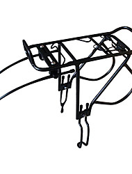 Прочный алюминиевый сплав велосипедов полки (максимальная нагрузка 25 кг, черный)
