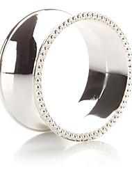 Set of 4 Luxury Modern Design Zinc Alloy Napkin Ring