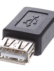 mini usb al adaptador femenino del usb
