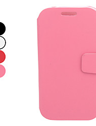 PU Leather Full Body Case with Stand and Card Slot for Samsung Galaxy I9080/I9082