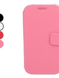 PU-Leder Ganzkörper-Case mit Ständer und Card Slot für Samsung Galaxy I9080/I9082