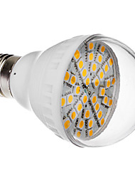 E27 6W 36x5050 SMD 420-470LM 2800-3200K Warm White Light LED Ball Bulb (220V)