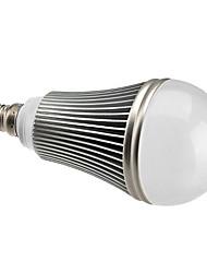 7W E14 LED Kugelbirnen A60(A19) 7 High Power LED 630 lm Natürliches Weiß Dimmbar AC 220-240 V