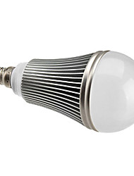 Bombillas LED de Globo Regulable A60(A19) E14 7W 7 LED de Alta Potencia 630 LM Blanco Natural AC 100-240 V