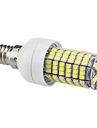 E14 144 SMD 3528 450 LM Natural White LED Corn Lights AC 220-240 V