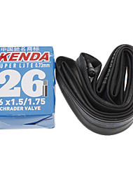 KENDA 26*1.5/1.75 AV Super Lite 0.73mm Rubber Material Bicycle Inner Tire