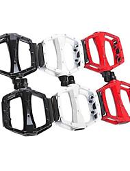 Aluminiumlegierungmaterial Mountain Bike Pedal mit Reflektoren (2 Farben)